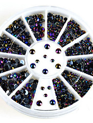 1 Nail Art Décoration strass Perles Maquillage cosmétique Nail Art Design