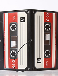 Retro tape recorder Travel Passport Holder & ID Holder Waterproof / Dust Proof / Portable Travel Storage PVC
