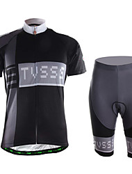 Sports Cycling Jersey with Shorts Men's Short Sleeve Quick Dry / Wearable / High Breathability / 3D Pad /