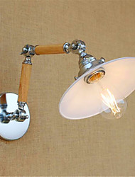 AC 110-130 / AC 220-240 4W E26/E27 Rustique/Campagnard / Rustique Chromé Fonctionnalité for LED / Ampoule incluse,Eclairage d'ambiance