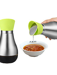 2pcs/set Kitchen Stainless Steel Plastic Shaker & Mill