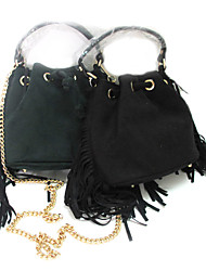 Women's Newest Velvet Hand Bag with Tassel