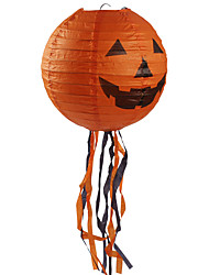 Halloween Props Cosplay Carnival New Year Spider Pumpkin Printing Fringe Paper Lantern