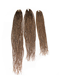 Senegal Twist  #30 Synthetic Hair Braids 18inch 20inch 22inch Kanekalon 81 Strands 200g  Multipal Pack for Full Heads