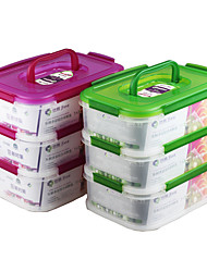 Portable Take Away Multi Compartment Lunch Box with Divider