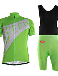 Sports Cycling Jersey with Shorts Men's Short Sleeve Quick Dry / Wearable / High Breathability / Ultra Light Fabric /