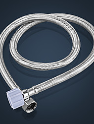 Jally 304 stainless steel braided hose water heater toilet faucet water hose single plastic head -40cm