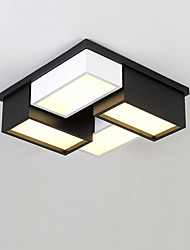 Modern Style Simplicity LED Ceiling Lamp Metal Flush Mount Living Room Bedroom Kids Room light Fixture