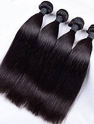 Straight Indian Virgin Hair Straight Indian Hair 4 Bundles Human Hair Extensions  Virgin Hair Straight 8A Unprocessed