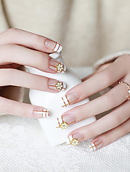 The Bride Manicure Fake Nails Nail a Piece of Small Fragrant Patch Manicure Glue Product Models