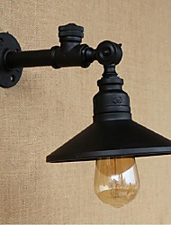 AC 220-240 40 E27 Rustic/Lodge Painting Feature for Bulb Included,Ambient Light Wall Sconces Wall Light