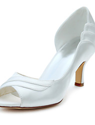 Women's Heels Spring / Summer Others Stretch Satin Wedding / Party & Evening Stiletto Heel Others Ivory Others