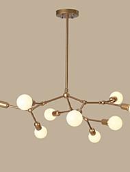 Max 60W Lampe suspendue ,  Traditionnel/Classique / Rustique / Rétro / Vintage Peintures Fonctionnalité for Style mini MétalSalle de