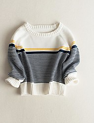 Boy's Casual/Daily Solid Sweater & CardiganCotton Fall Blue