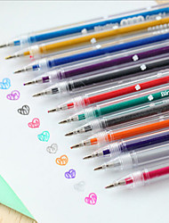12 couleur couleur flash stylo