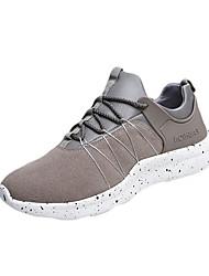 Femme-Sport-Noir / Rouge / Gris-Talon Plat-Confort-Chaussures d'Athlétisme-Polyuréthane