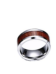 Band Rings,Jewelry Tungsten Steel Fashionable Daily / Casual Camel7 / 8 / 9 / 10 / 11 / 12 Men