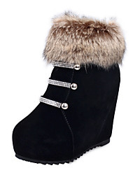 Women's Boots Fall / Motorcycle Boots / Bootie / Gladiator / Novelty LeatheretteOutdoor /