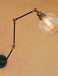 AC 110-130 / AC 220-240 40 E26/E27 Rustique/Campagnard Chromé Fonctionnalité for Ampoule incluse,Eclairage d'ambianceEclairage avec Bras