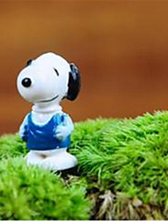 Micro Landscape Material Micro World Moss Lovely Cartoon Snoopy Furnishing Articles DIY Jewelry Materials