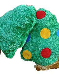 Игрушка для котов Игрушка для собак Игрушки для животных Игрушки с писком Игрушка для очистки зубов Скрип Зеленый Плюш