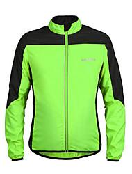 Deportes Chaqueta de Ciclismo Hombres Mangas largas Bicicleta Transpirable / Resistente a los UV / Listo para vestir / Materiales Ligeros