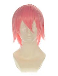 szayelaporro morte Granz ligeira rosa para todos os fins revolvido curto halloween perucas perucas traje perucas sintéticas