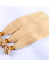 3pieces/lot Human Hair Weaves #613 Colored Hair Weaves