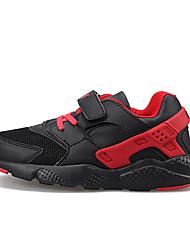 Girl's Sneakers Spring / Fall Comfort PU Outdoor Flat Heel Others / Hook & Loop Black / Blue / Pink Walking