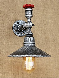 AC 220-240 40 E27 BG147 Rustic/Lodge Painting Feature for Bulb IncludedAmbient Light Wall Sconces Wall Light Silver