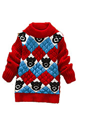 Children's Casual/Daily Striped Sweater & CardiganWool Winter Blue / Green / Red / Yellow / Gray