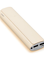 JOWAY JP-55 10000mAh Dual USB Anti-scratch Power Bank Phone Charger