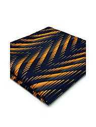 Cravate & Foulard Vintage / Mignon / Soirée / Travail / Décontracté Rayonne,Homme Géométrique,Bleu Toutes les Saisons
