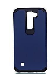 Pour Antichoc Coque Coque Arrière Coque Couleur Pleine Dur Polycarbonate pour LG LG K10 LG K8 LG K7 LG G4 Stylus / LS770