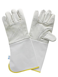 Light Color Without Trademark # 120 Welding Gloves Welder Special Glove