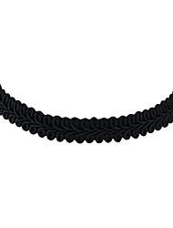 Femme Collier court /Ras-du-cou Alliage Style Punk Blanc Noir Bijoux Pour Halloween Quotidien Décontracté 1pc