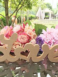 Madera Decoración Ceremonia-1Piece / SetFiesta de Despedida de Soltera / Baby Shower / Fiesta de baile / Cumpleaños / San Valentín /