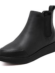 Women's Boots Winter Comfort PU Casual Black