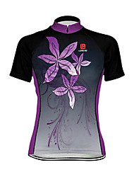 Sports Bike Cycling Jersey Women's Short SleeveBreathable  Ultraviolet Resistant  Quick Dry  Anatomic Design