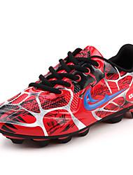 Femme-Décontracté / Sport-Bleu / Vert / Rouge-Talon Plat-Confort-Chaussures d'Athlétisme-Tissu