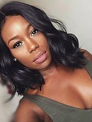 Glueless Lace Front 100% Human Hair Wigs For Black Women Bob Wigs Brazilian Virgin Human Hair