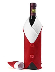 Christmas Red Wine Bottle Bag Cover Bags Dinner Table Decoration Home Christmas For Christmas Decoration