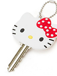 HELLO KITTY Lighting Key Case Cute Cartoon Hello Kitty LED Light Key Chain