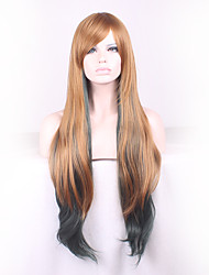 Long Feature Material Wigs for Women Style Shown Color Straight Costume Wigs Cosplay Wigs