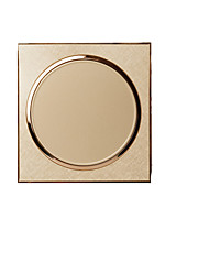 Champagne Gold Home Power Switch Socket