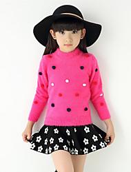 Girl Wild Stylish Polka Dot Sweater & Cardigan