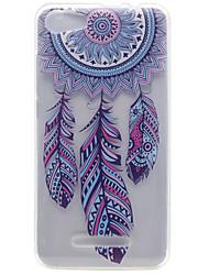 Для wiko lenny 2 lenny 3 ветер куранты образец высокая проницаемость tpu материал телефон оболочка для целлюлозы fab 4g