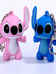 Rainbow Rope With Batman Cartoon Creative Voices LED Key Chain Pendant Gift Flashlight BS - 190