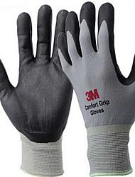 удобная износостойких противоскользящей охраны труда перчатки цвет серый
