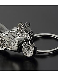 Heavy Duty Motorcycle Key Chain Personality Creativity Simulation Motorcycle Automobile Metal Key Ring